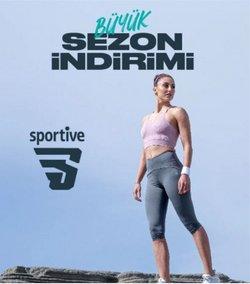 Sportive broşürdeki Sportive dan fırsatlar ( 16 gün kaldı)