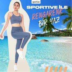 Sportive broşürdeki Spor dan fırsatlar ( Yarın son gün)