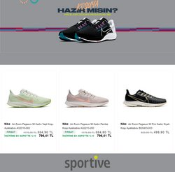 Sportive broşürdeki Sportive dan fırsatlar ( 4 gün kaldı)