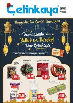 Çetinkaya broşürdeki Ramazan dan fırsatlar ( 2 gün kaldı)