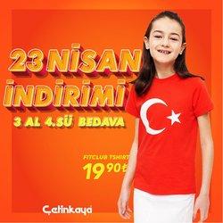 Adana Çetinkaya kataloğu ( Yarın son gün )