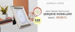 Karaca Home broşürdeki Ev ve Mobilya dan fırsatlar ( 4 gün kaldı)