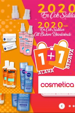 Cosmetica kataloğu ( Süresi geçmiş )