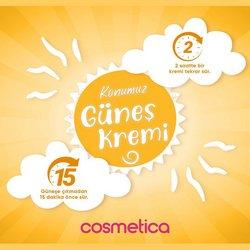 Kozmetik fırsatları Cosmetica kataloğu ( 7 gün kaldı )