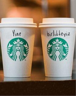 Starbucks kataloğu ( 2 gündür yayında )