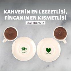 Starbucks broşürdeki Kafe ve Restoranlar dan fırsatlar ( 3 gün kaldı)