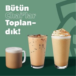 Starbucks broşürdeki Kafe ve Restoranlar dan fırsatlar ( 4 gün kaldı)