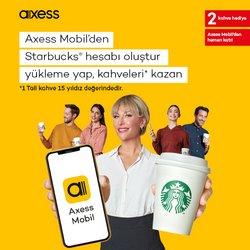 Starbucks broşürdeki Starbucks dan fırsatlar ( Bugün yayınlandı)