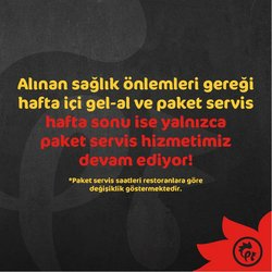 Kafe ve Restoranlar fırsatları Ankara Tavuk Dünyası kataloğu ( 2 gün kaldı )
