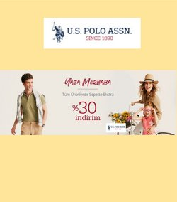 U.S. POLO ASSN. broşürdeki U.S. POLO ASSN. dan fırsatlar ( 8 gün kaldı)