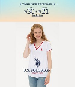 U.S. POLO ASSN. broşürdeki U.S. POLO ASSN. dan fırsatlar ( Dün yayınlandı)