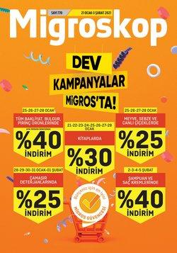 Süpermarket fırsatları Ankara Migros kataloğu ( Dün yayınlandı )