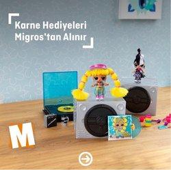 Migros broşürdeki Migros dan fırsatlar ( Bugün yayınlandı)