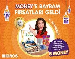 Migros broşürdeki Süpermarketler dan fırsatlar ( Bugün yayınlandı)