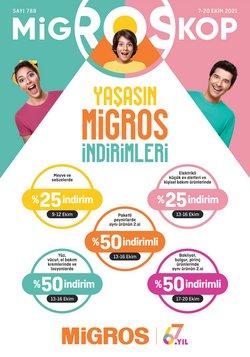 Migros broşürdeki Süpermarketler dan fırsatlar ( 4 gün kaldı)