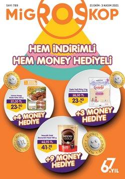 Migros broşürdeki Süpermarketler dan fırsatlar ( Dün yayınlandı)