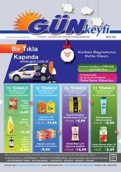 Gün Süpermarket broşürdeki Gün Süpermarket dan fırsatlar ( 9 gün kaldı)