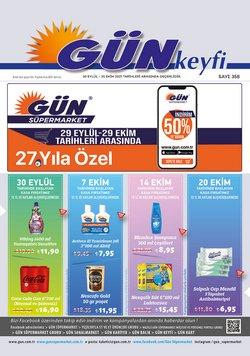 Gün Süpermarket broşürdeki Gün Süpermarket dan fırsatlar ( 8 gün kaldı)