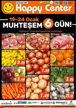 Süpermarket fırsatları Ankara Happy Center kataloğu ( 2 gün kaldı )
