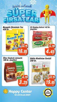 Süpermarket fırsatları İzmir Happy Center kataloğu ( 2 gün kaldı )
