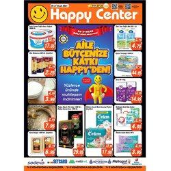 Happy Center kataloğu ( Bugün yayınlandı )