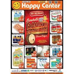 Happy Center broşürdeki Ramazan dan fırsatlar ( Dün yayınlandı)