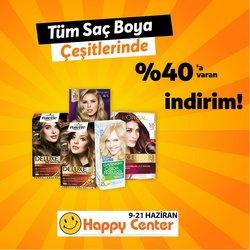 Happy Center broşürdeki Happy Center dan fırsatlar ( 7 gün kaldı)