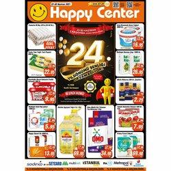 Happy Center broşürdeki Süpermarketler dan fırsatlar ( 6 gün kaldı)