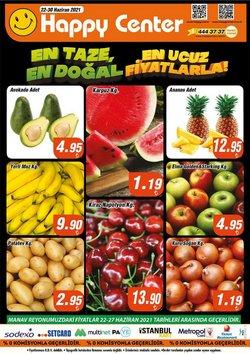 Happy Center broşürdeki Süpermarketler dan fırsatlar ( 3 gün kaldı)