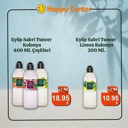Happy Center broşürdeki Happy Center dan fırsatlar ( 4 gün kaldı)