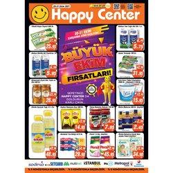 Happy Center broşürdeki Süpermarketler dan fırsatlar ( Dün yayınlandı)