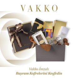 Vakko broşürdeki Vakko dan fırsatlar ( Bugün son gün)