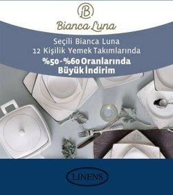 Linens broşürdeki Ev ve Mobilya dan fırsatlar ( 2 gün kaldı)
