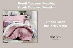 Linens broşürdeki Linens dan fırsatlar ( Dün yayınlandı)