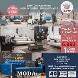 Modalife broşürdeki Modalife dan fırsatlar ( Dün yayınlandı)