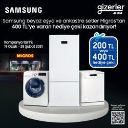 Elektronik ve Beyaz Eşya fırsatları İstanbul Gizerler Süpermarket kataloğu ( Uzun geçerlilik )