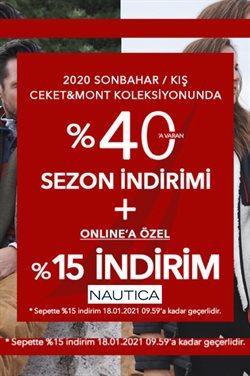 Moda fırsatları Erzurum Nautica kataloğu ( Dün yayınlandı )