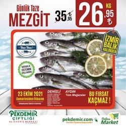 Pekdemir broşürdeki Süpermarketler dan fırsatlar ( Bugün yayınlandı)