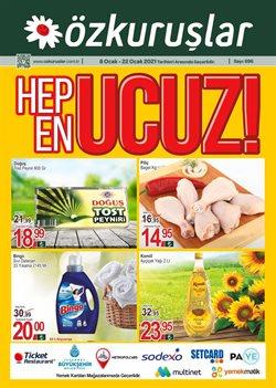 Süpermarket fırsatları Ankara Özkuruşlar Market kataloğu ( Bugün son gün )