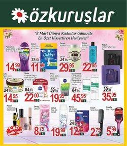 Özkuruşlar Market kataloğu ( Bugün son gün )