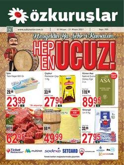 Çayırova Özkuruşlar Market kataloğu ( Süresi geçmiş )
