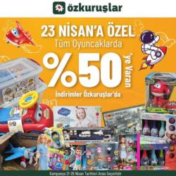 Çayırova Özkuruşlar Market indirim kuponu ( Bugün yayınlandı )