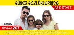 İstanbul broşürdeki Opmar Optikdan fırsatlar
