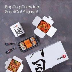Kafe ve Restoranlar fırsatları SushiCo kataloğu ( 3 gün kaldı )
