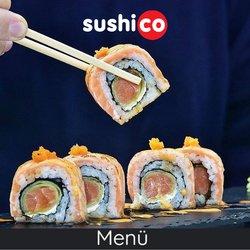 SushiCo broşürdeki SushiCo dan fırsatlar ( Uzun geçerlilik)