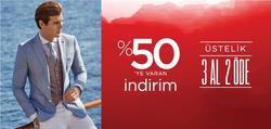 İstanbul broşürdeki D'S Damatdan fırsatlar