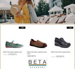 Beta Ayakkabı kataloğu ( 2 gündür yayında )