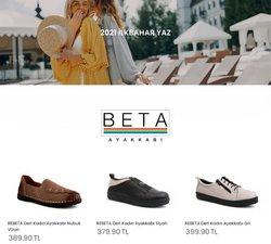 Beta Ayakkabı broşürdeki Beta Ayakkabı dan fırsatlar ( Bugün son gün)