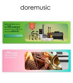 Dore Müzik broşürdeki Ev ve Mobilya dan fırsatlar ( Yarın son gün)