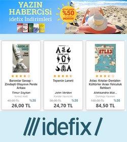 İdefix broşürdeki Kitaplar, Kırtasiyeler ve Eğitim dan fırsatlar ( 4 gün kaldı)